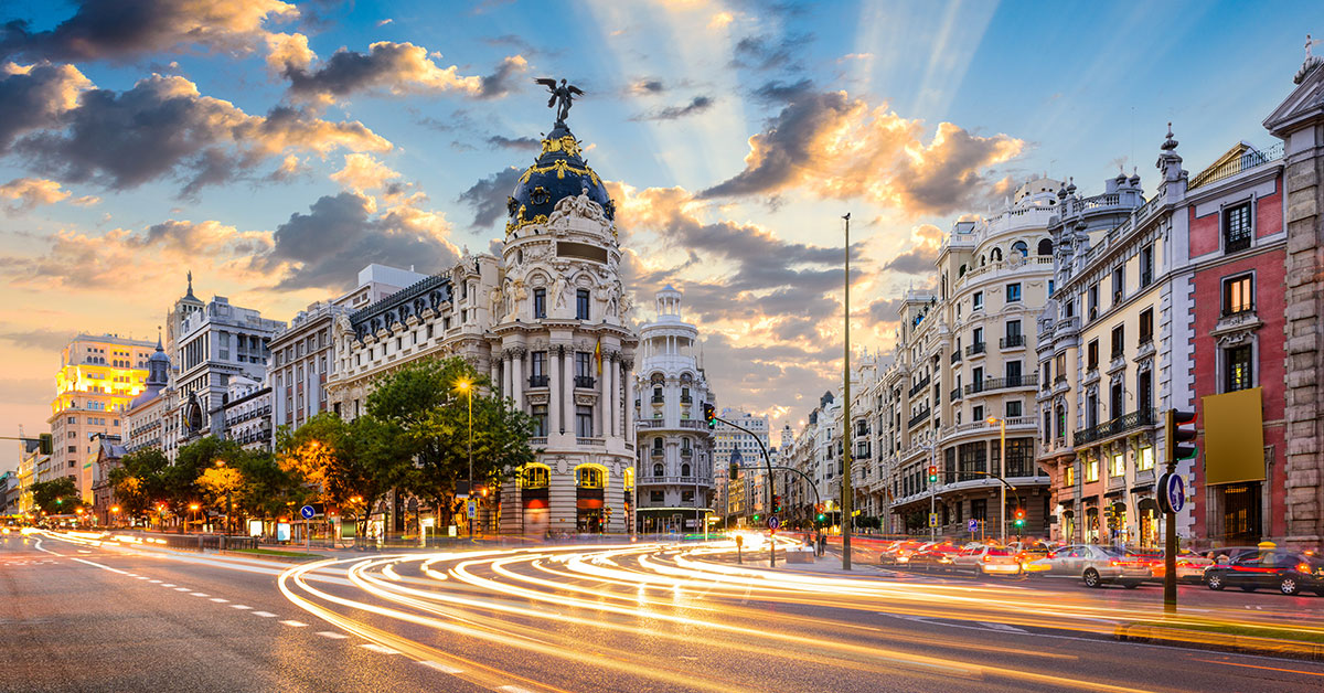 Retire to Madrid - Spain