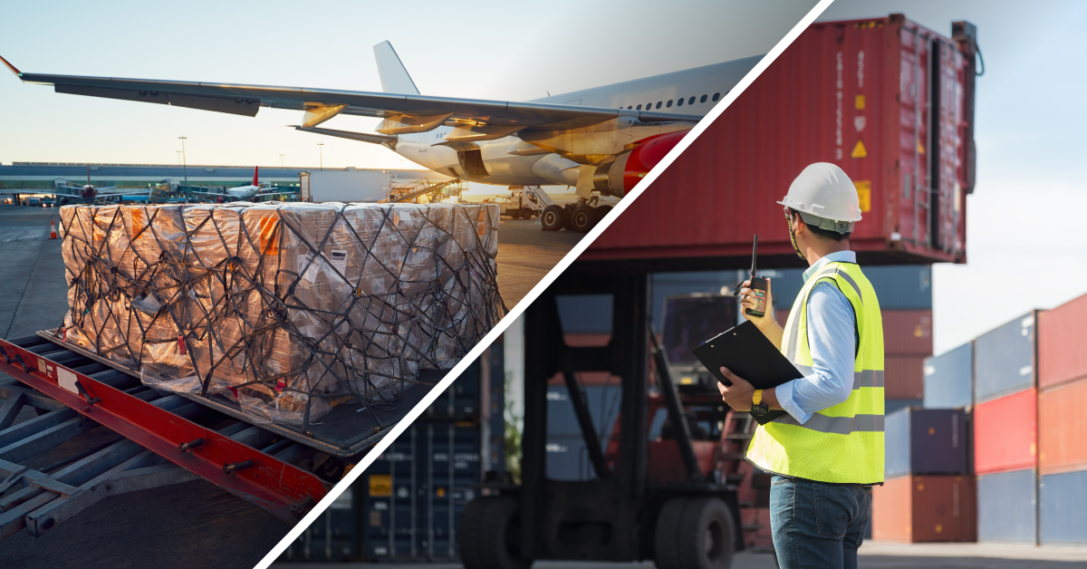 The difference between a freight forwarder vs a broker