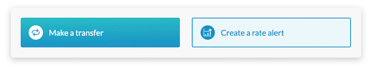 Action Buttons give you quick access to your most used features