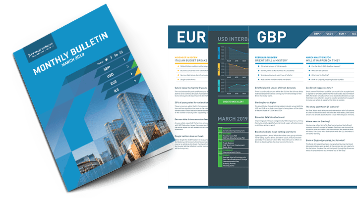 Subscribe for regular updates on market and Brexit developments