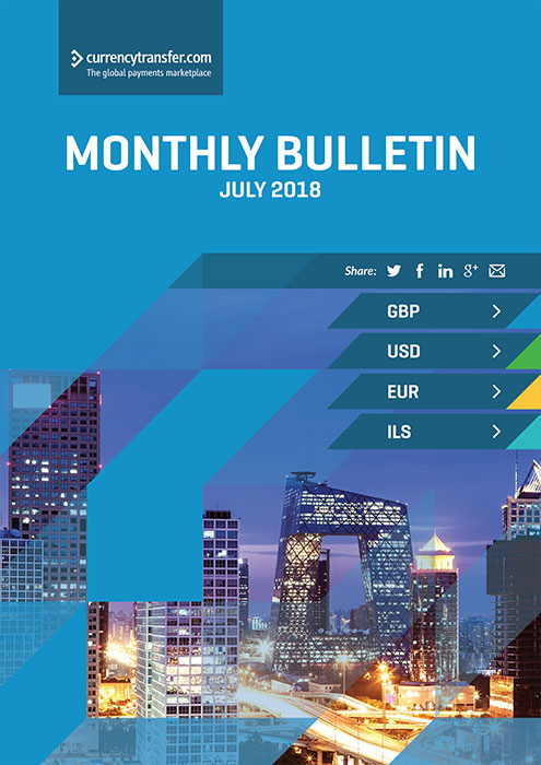July monthly Currency Bulletin cover