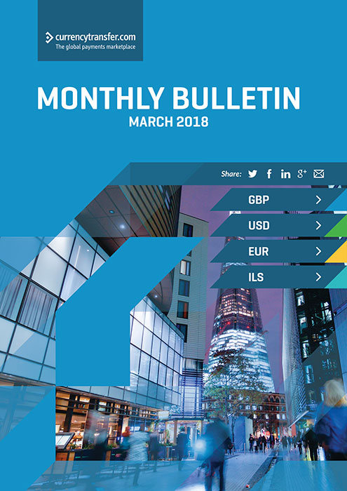 March monthly Currency Bulletin cover