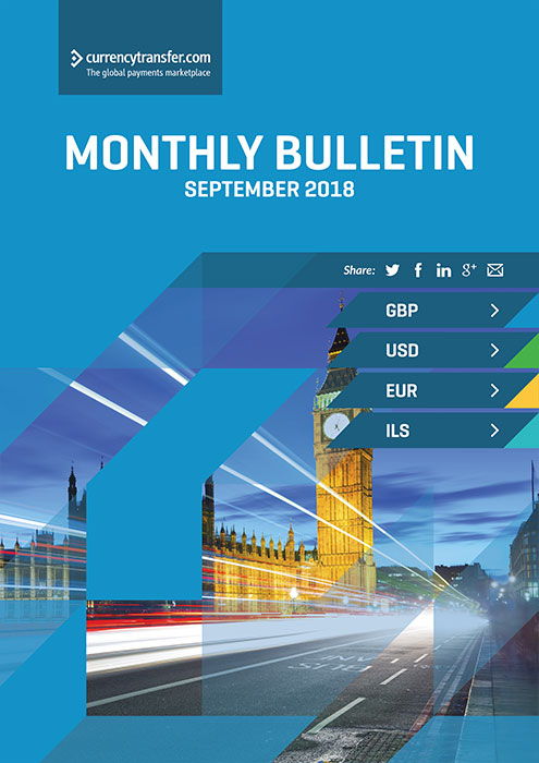 September monthly Currency Bulletin cover