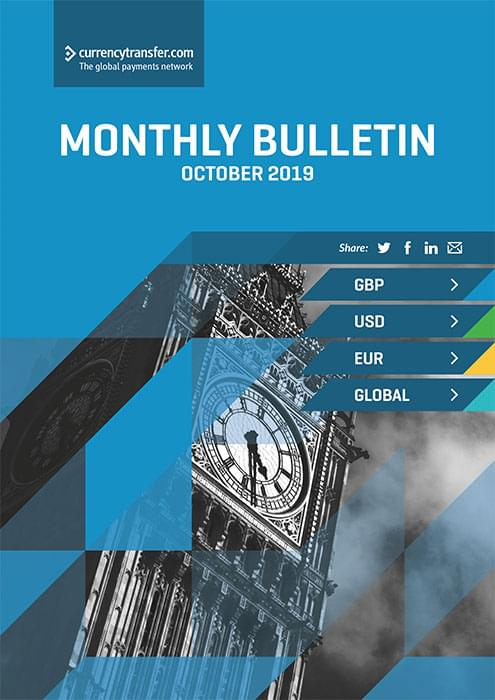 October monthly Currency Bulletin cover