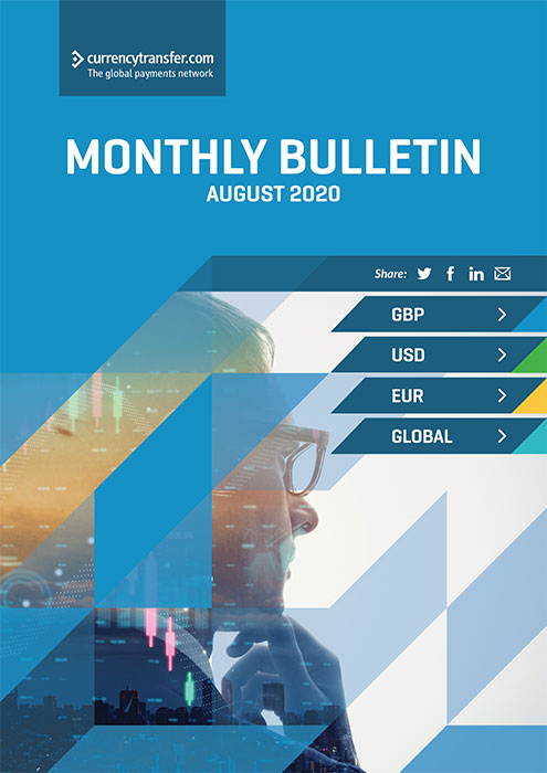 August monthly Currency Bulletin cover