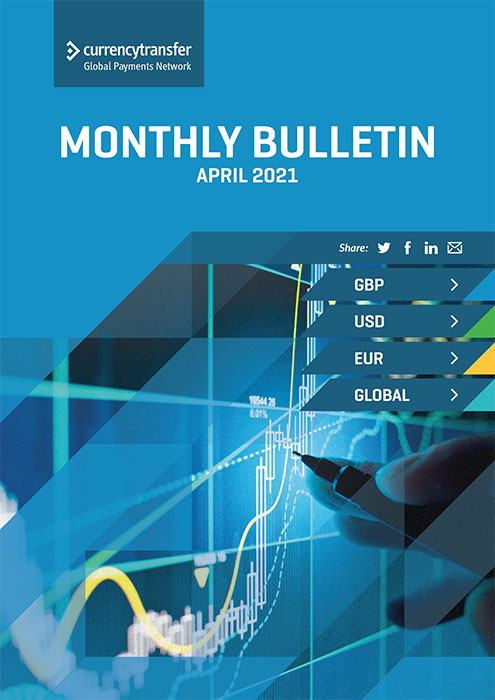 April monthly Currency Bulletin cover